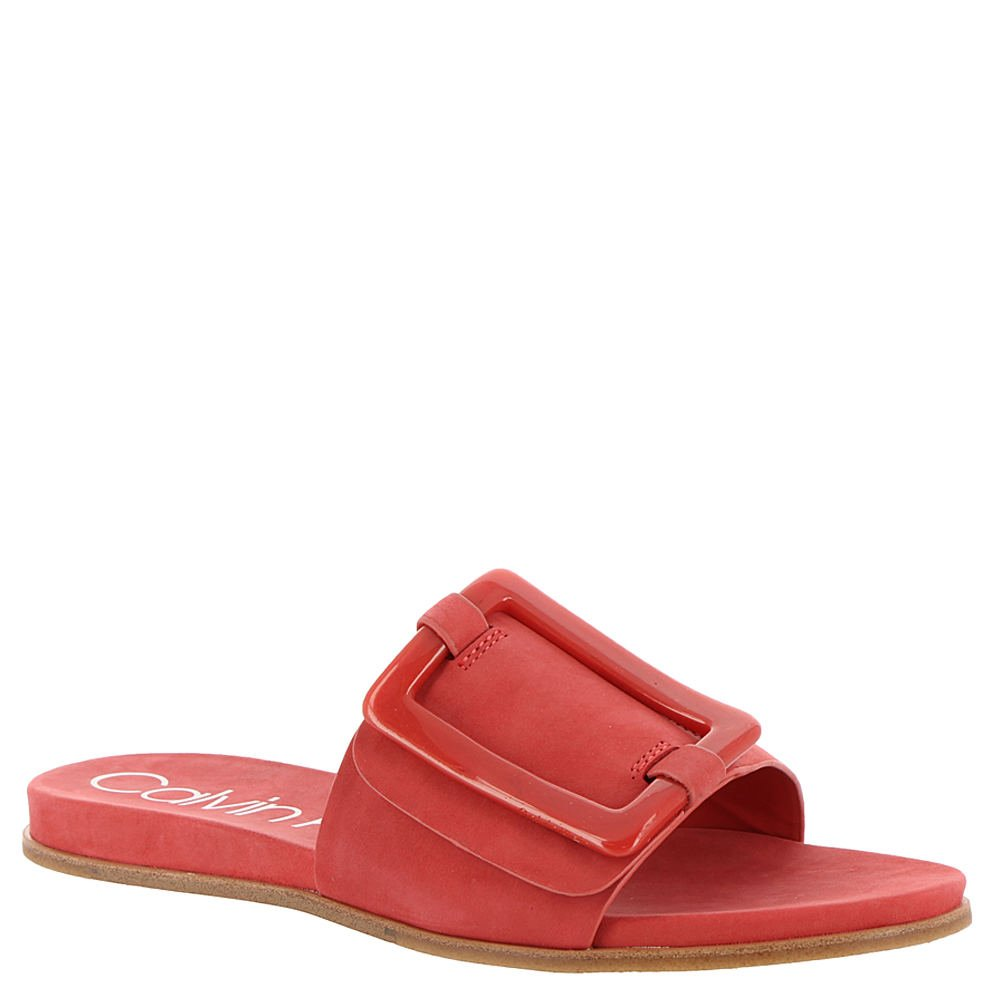 Calvin Klein Women's Patreece Slide Sandal B07D7QXFJL 7.5 B(M) US|Deep Blush