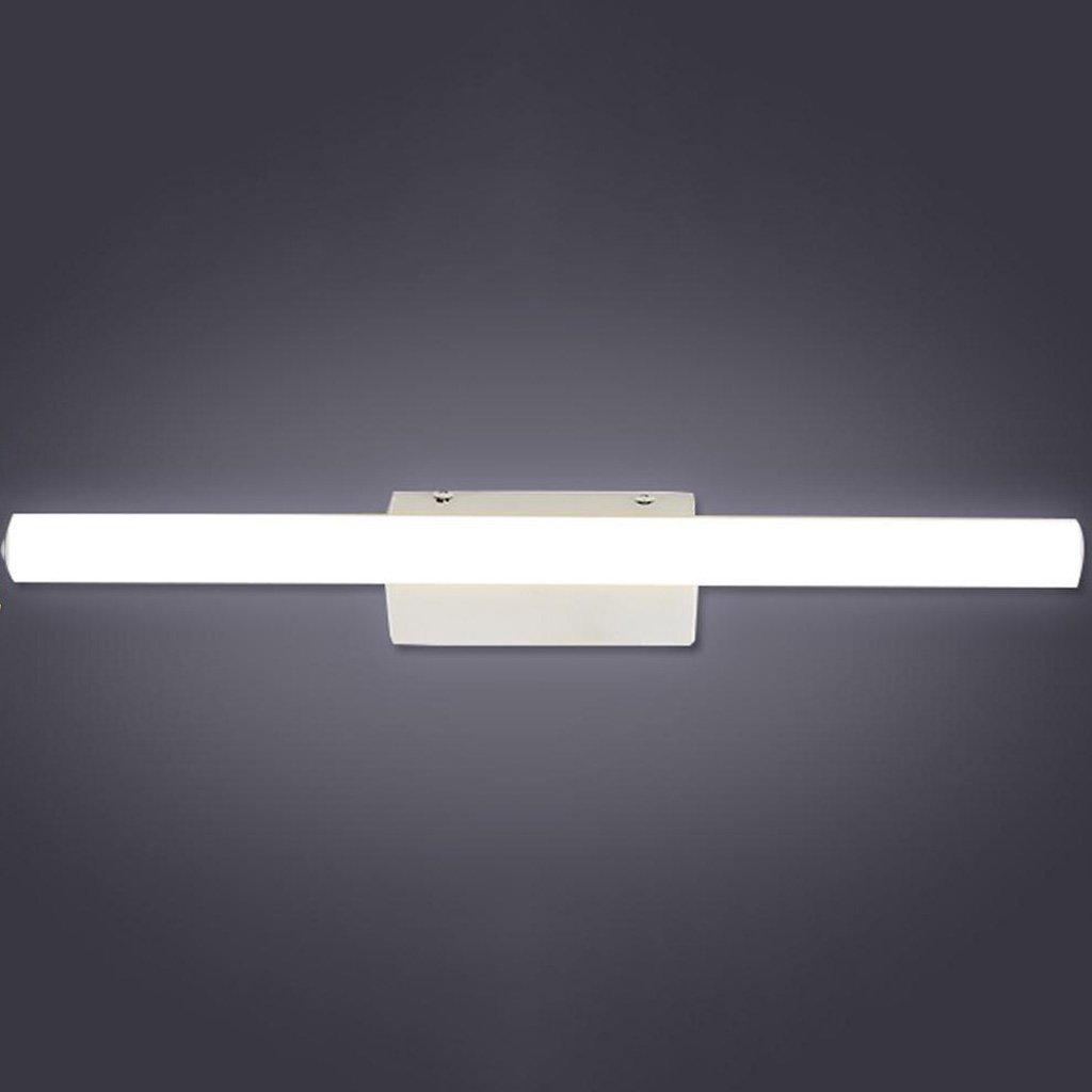 & Spiegellampen LED-Spiegel-Scheinwerfer, Anti-fog wasserdichtes Badezimmer-Verfassungs-Spiegel-Schlafzimmer-Wand-Lampen-Taschenlampe Badezimmerbeleuchtung (größe : 40cm 9.6w)