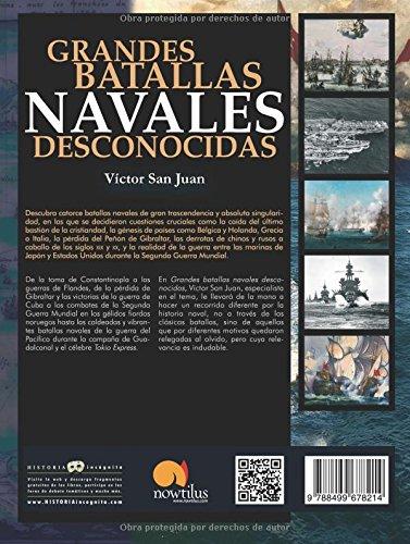 Grandes batallas navales desconocidas: Versión sin solapas ...