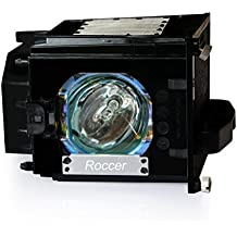 Roccer 915P049010 Replacement Lamp with Housing for Mitsubishi DLP TV WD-52631, WD-57731, WD-65731, WD-65732