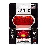 CAT EYE - Omni 3 LED Safety Bike Light with