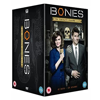 Bones (Complete Seasons 1-8) - 45-DVD Box Set ( Bones - Complete Seasons One to Eight ) [ NON-USA FORMAT, PAL, Reg.2 Import - United Kingdom ]