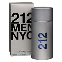 Carolina Herrera 212 NYC Men Eau de Toilette Spray--3.4 fl oz (100 ml) by Carolina Herrera