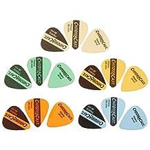 ChromaCast Vintage Heavy Gauge Guitar Pick 15 Pack, Assorted Colors