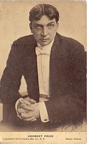 Herbert Prior Theater Actor / Actress Postcard