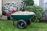 Marathon Yard Rover – 2 Tire Wheelbarrow Garden