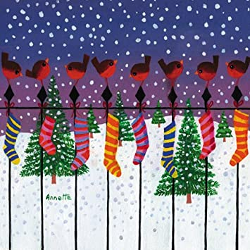 charity-Weihnachtskarten, Motiv: Weihnachtsmann - 8 Karten Parkinson ...