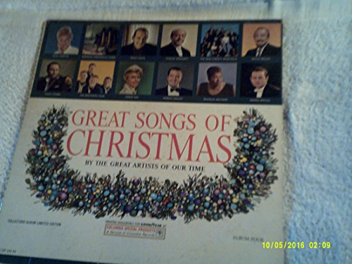 The Great Songs of Christmas (Goodyear Album - Mall Jc