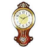 OLQMY-Luxury home decoration Polaris Living Room Creative Simple Wall Watch, European Wall Wall Clock, Fashion Antique Art Retro Creative Stone Clock,A