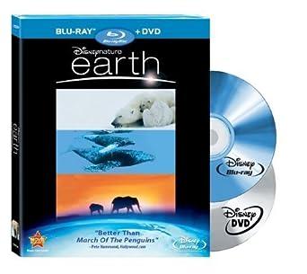 Amazon Com Disneynature Earth Blu Ray Dvd Combo By Walt Disney