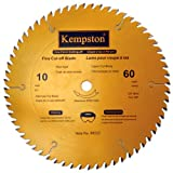 Kempston 99532 10-Inch by 60 Tooth Professional Thin Kerf Fine Cut-Off Blade with 5/8-Inch Arbor