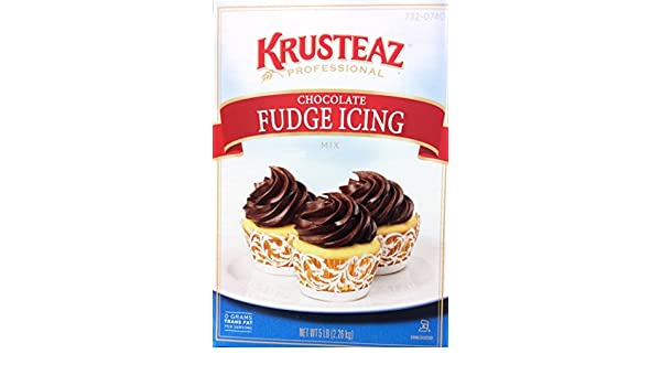 Amazon.com : Krusteaz CHOCOLATE FUDGE ICING Mix 5lb. (2-Pack) : Grocery & Gourmet Food