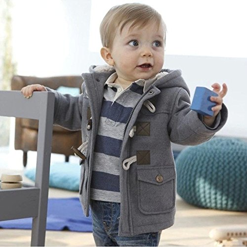 Fashion winter children kids baby boys infant outerwear coat baby kids boys jacket coat 2-6Years