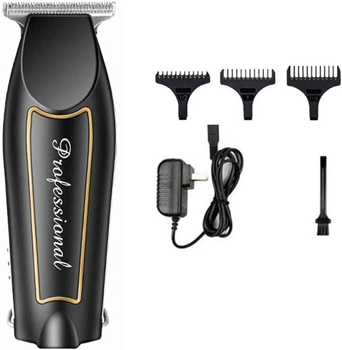 Cortapelos Profesional Cortapelos 0.1Mm Cortador Calvo Recortador de pelo eléctrico Afeitado de barba para hombres Peluquería Cortadora de cabello: Amazon.es: Bricolaje y herramientas