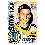 Paul Stastny Hockey Card 2011 Quebec Pee-Wee Danone #10 Paul Stastny