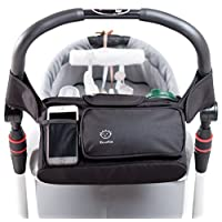 Stroller Organizer with Removable Shoulder Strap, Universal Fit, Premium Qual...