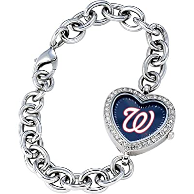 Game Time Women's Heart Watch Series MLB