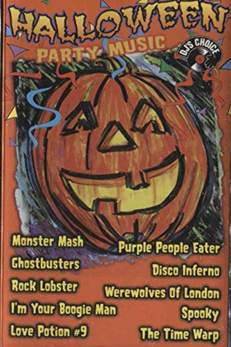 Halloween Party Music Cassette Tape -