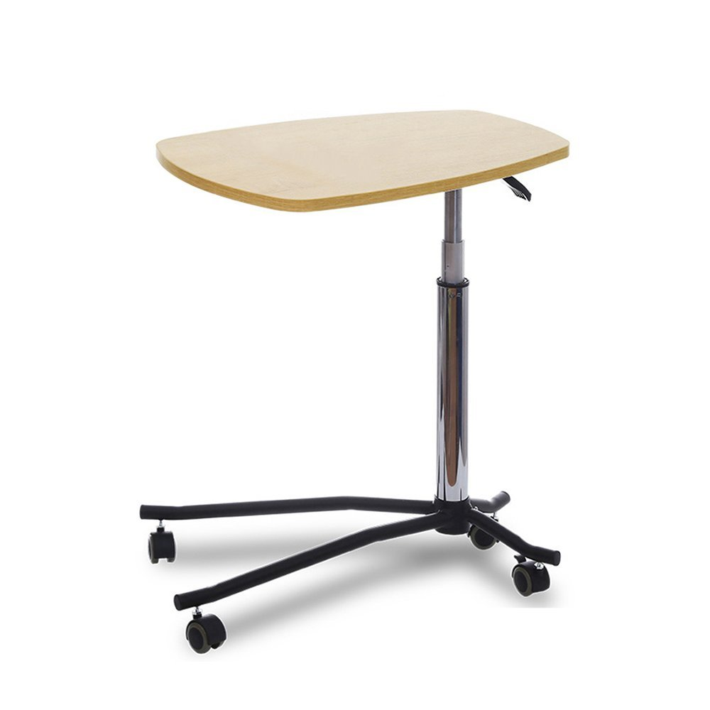 YNN ベッドサイドテーブル可動リフトレイジーコンピュータデスクベッドノートブックライティングデスクソファサイドテーブル (色 : イエロー いえろ゜) B01LW8EV7P イエロー いえろ゜ イエロー いえろ゜