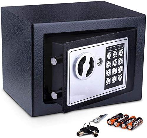 FISHTEC ® Caja fuerte - cerradura de combinación 23 X 17 X 17 cm: Amazon.es: Bricolaje y herramientas