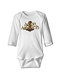 Infant Antimicrobic Cotton Romper With Amon Amarth