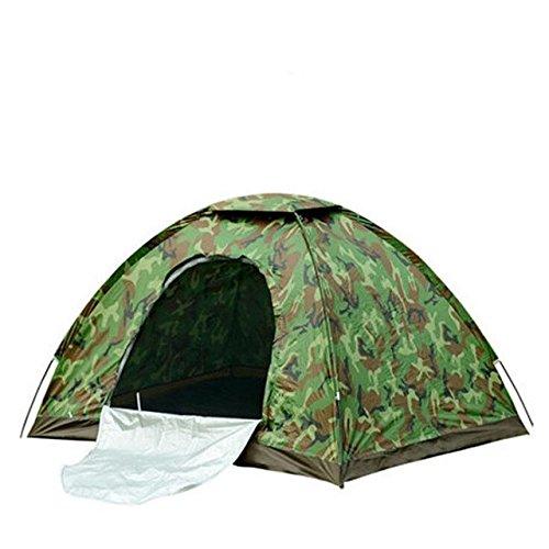 Malilove 4 Person Camouflage Camping Zelt 200x200x130cm Outdoor Camp Folding Wandern Tenda Single Layer Strand Tente Bivvy Tourist Zelte