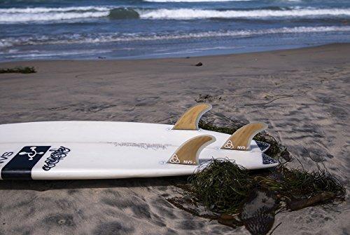 GL Thruster Honeycomb Surfboard FIns: FCS | Futures: NVS