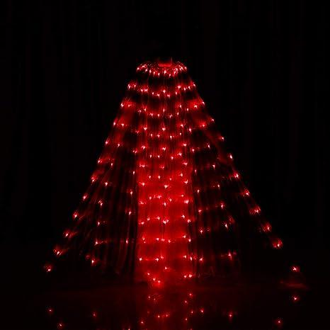 Amazon.com: Alas para danza del vientre con luces LED y ...