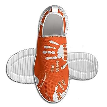 Jeep Wave Men Women Running Shoes Fashion Slip On Sports Sneaker