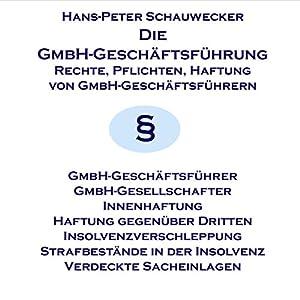 Die GmbH-Geschäftsführung Hörbuch