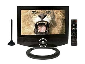 "Nevir NVR-7800 - TV portátil (254 mm (10 ""), 1024 x 600 Pixeles, 400 Negro"