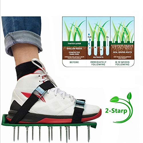 Ripper Kids Shoe - RXRENXIA Grass Garden Pine Soil Shoes,Gardening Loose Soil Shoes, Garden Ripper Garden Flower Gardening Tools, Universal Size, Suitable for Adults and Children