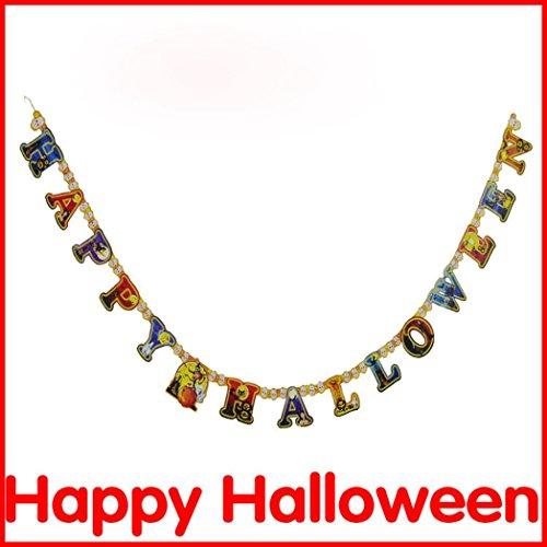 SUPPION Halloween Paper Garlands,