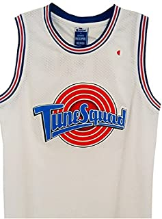 official photos 4444b 122be Tune Squad Space Jam Michael Jordan Jersey #23 - White ...