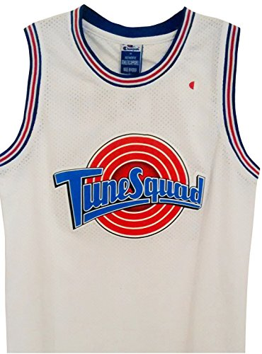 the best attitude 0e74b 14ef2 Michael Jordan Space Jam Jersey -  23 Tune Squad - White (Medium)