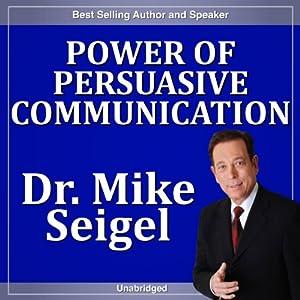 Power of Persuasive Communication Speech