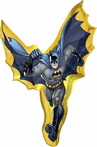 39 Inch Large Batman Action Shape Balloon - (Batman Balloon)