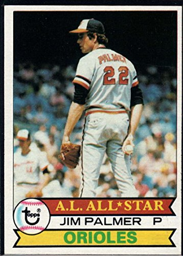 Jim Palmer Baseball - Baseball MLB 1979 Topps #340 Jim Palmer Orioles