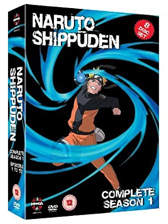 Naruto Shippuden Complete Series 1 Boxset Episodes 1 To 26 ...
