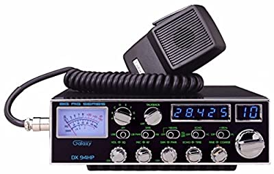 Galaxy DX-94HP 10 Meter Amateur Ham Radio 100W Blue LED's 4 Mosfets SSB