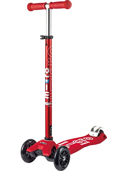 Micro Maxi Deluxe 3-Wheeled, Lean-to-Steer, Swiss-Designed Micro Scooter for Kids, Ages 5-12