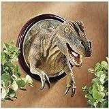 Design Toscano T-Rex Dinosaurio trofeo pared escultura