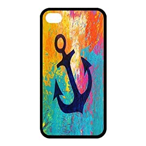 Custom Anchor Back Cover Case for iphone 4,4S JN4S-670
