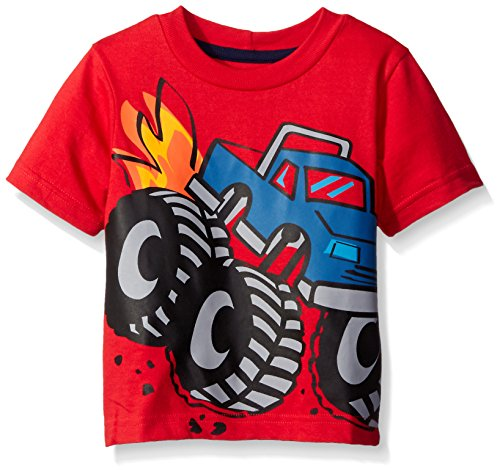 Gerber Graduates Boys Short Sleeve T-Shirt, Monster Truck, 24 Months