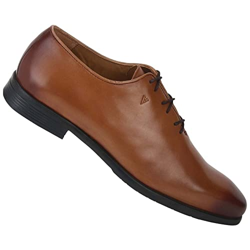 e7a50f1793 Van Heusen Men s Tan Leather Formal Shoes-10 UK India (44 EU ...