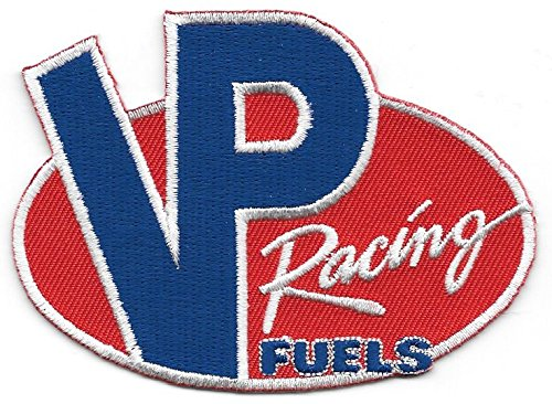 VP Racing Fuels Race Gas Embroidered Patch for Pit Shirt Jacket Race Leathers Shirt Coat More ()