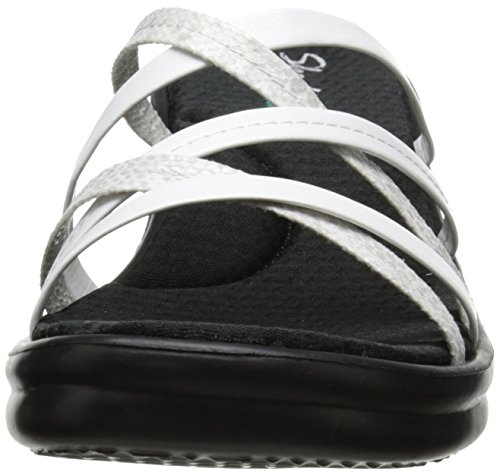 Donna Child con Skechers Rumblers Platea Sandali White Wild zqBCUwY