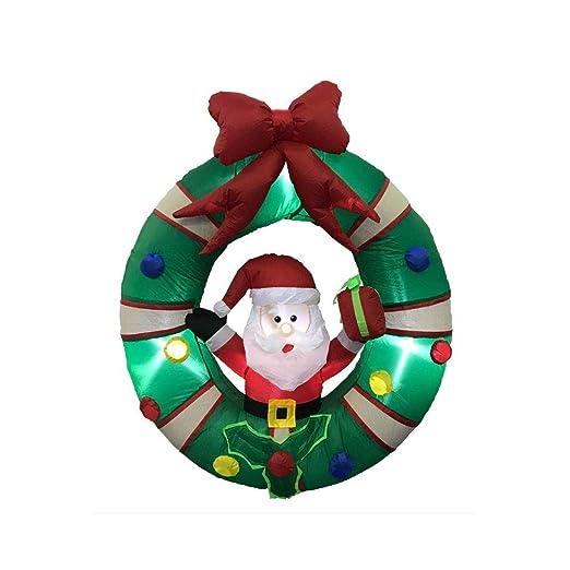 Impacto toldo Navidad inflable decoraciones, exterior vacaciones ...