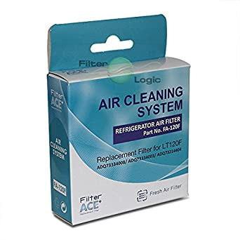 kenmore air filter. fa-120f fridge air filter replaces lg lt120f - adq73334008 adq73214404 kenmore e
