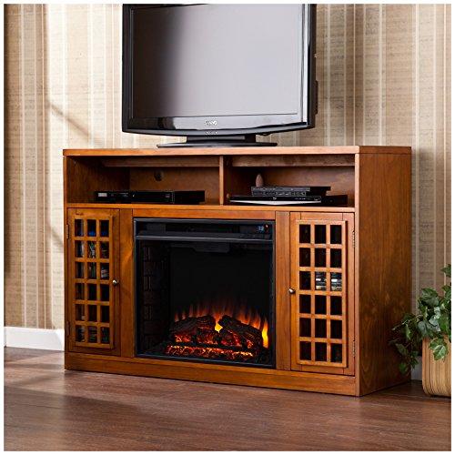 Southern Enterprises Narita Media Electric Fireplace 48